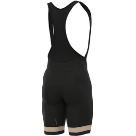 Alé Cycling Classic Vintage Bib Shorts Heren, black-beige